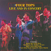 Live And In Concert by The Four Tops