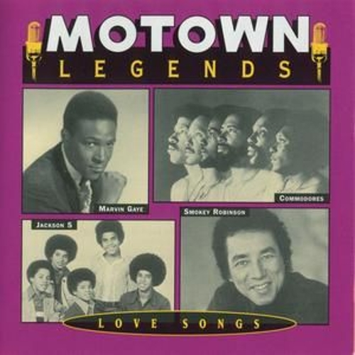 Motown Legends Love Songs by Various Artists