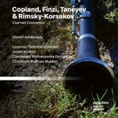 Finzi, Copland & Taneyev: Clarinet Concertos de Dimitri Ashkenazy