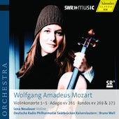 Mozart: Violin Concertos Nos. 1-5 - Adagio in E Major by Lena Neudauer