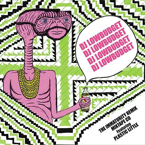 DJ Lowbudget Presents The Immaturity Remix Mixtape CD by Plastic Little