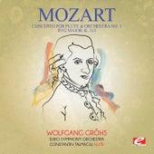 Mozart: Concerto for Flute & Orchestra No. 1 in G Major, K. 313 (Digitally Remastered) de Constantin Talmaciu
