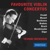 Favourite Violin Concertos von Yehudi Menuhin