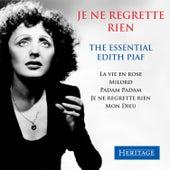 Je ne regrette rien - The Essential Edith Piaf de Edith Piaf