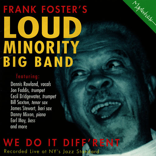 We Do It Diff'rent by Frank Foster