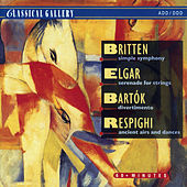 Britten: Simple Symphony - Elgar: Serenade for Strings - Bela Bartok: Divertimento  - Respighi: Ancient Airs and Dances von Slovak Chamberorchestra