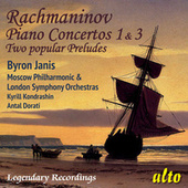 Rachmaninov: Piano Concertos Nos. 1 & 3; Two Preludes by Byron Janis