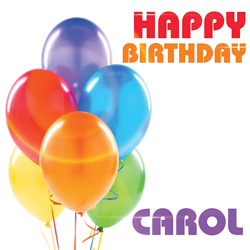 happy birthday carol single by the birthday crew. Black Bedroom Furniture Sets. Home Design Ideas