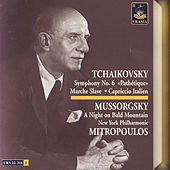 Tchaikovksy: Symphony No. 6 - Mussorgsky: A Night on Bald Mountain by Dimitri Mitropoulos
