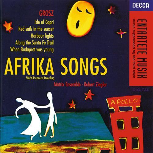 Grosz: Afrika Songs de Various Artists