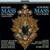 Mozart: Coronation Mass / Schubert: Mass No. 2 in G Major, D. 167 by Magda Kalmar