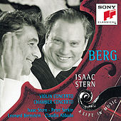 Berg: Violin Concerto; Kammerkonzert de Claudio Abbado - The London Symphony Orchestra - MEMBERS OF THE LONDON SYMPHONIC BAND - Peter Serkin - Leonard Bernstein - New York Philharmonic - Isaac Stern