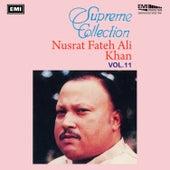 Supreme Collection Vol. 11 by Nusrat Fateh Ali Khan