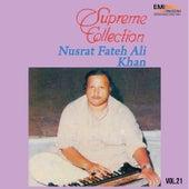 Supreme Collection Vol. 21 by Nusrat Fateh Ali Khan