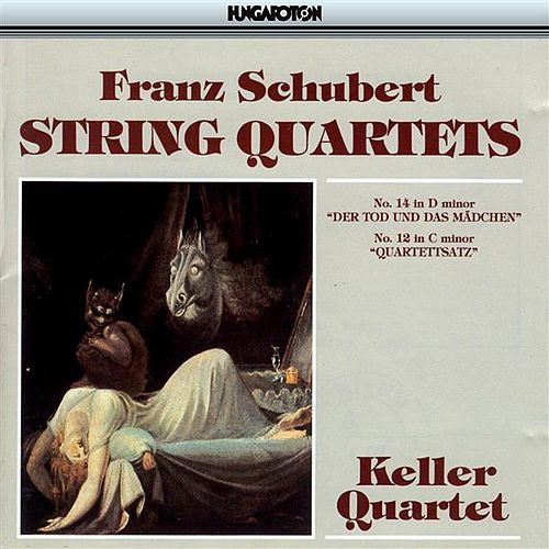 Schubert: String Quartets Nos. 12 and 14 by Keller Quartet