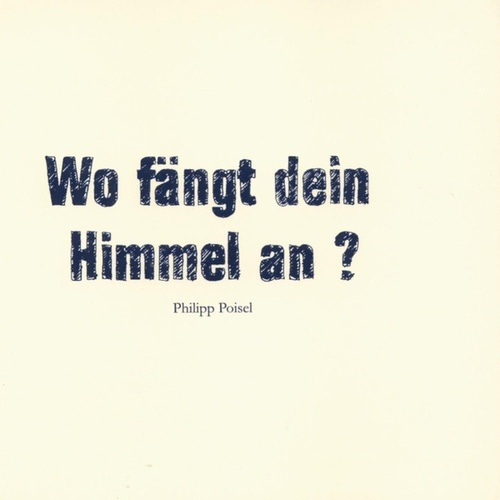 philipp poisel album