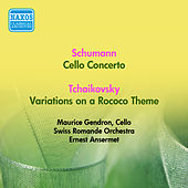 Schumann, R.: Cello Concerto / Tchaikovsky, P.I.: Rococo Variations (Gendron, Swiss Romande Orchestra, Ansermet) (1953) de Maurice Gendron