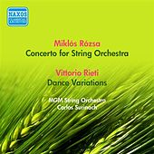 Rozsa, M.: Concerto for Strings / Rieti, V.: Dance Variations (Mgm String Orchestra, Surinach) (1957) de MGM String Orchestra