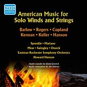 American Music for Solo Winds and Strings (1953) von Various Artists