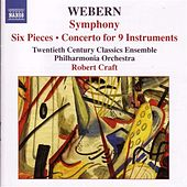 Webern, A.: Symphony / 6 Pieces, Op. 6 / Concerto by Various Artists