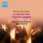 Rimsky-Korsakov, N.A.: Golden Cockerel (The) (Excerpts) / Capriccio Espagnol (Swiss Romande Orchestra, Ansermet) (1952) von Swiss Romande Orchestra
