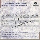 Dallapiccola: Tartiniana II - Janacek: Sonata - Prokofiev: Sonata n.2 in re magg, op. 94a de Alberto Bologni (1)