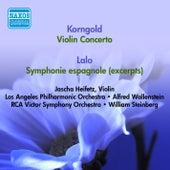 Korngold, E.: Violin Concerto / Lalo, E.: Symphonie Espagnole (Excerpts) (Heifetz) (1951, 1953) von Jascha Heifetz
