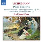 Schumann, R.: Piano Concerto in A Minor / Introduction and Allegro Appassionato de Jeno Jando