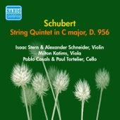 Schubert, F.: String Quintet in C Major (Stern, Casals, Tortelier, Schneider, Katims) (1956) by Isaac Stern