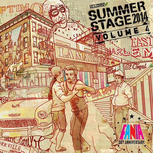Summerstage 2014 Fania 50th Anniversary - Vol. 4 by Various Artists