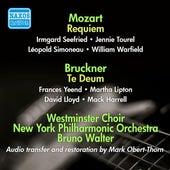 Mozart: Requiem - Bruckner: Te Deum de Various Artists