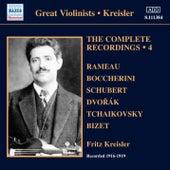 Kreisler: Complete Recordings, Vol. 4 (1916-1919) de Fritz Kreisler