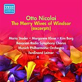 Nicolai: Merry Wives of Windsor (The) (Leitner) (1956) von Various Artists