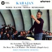 Karajan conducts Weber, Wagner, Nicolai & Mendelssohn de Herbert Von Karajan