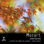 Mozart Overtures de Yehudi Menuhin