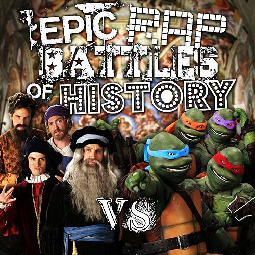 Artists vs Turtles by Epic Rap Battles of History