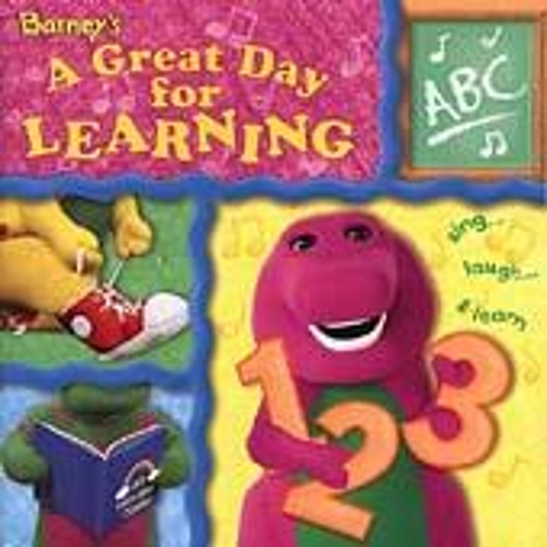 A Great Day For Learning by Barney