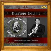 G.P. Telemann: Heldenmusik in A Major for Trumpet, Organ and Continuo, No. 8: Giocoso by Giuseppe Galante