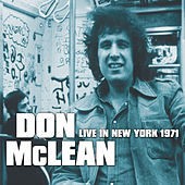 Live in New York 1971 de Don McLean