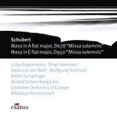 Schubert : Masses Nos 5 & 6, ' Missa Solemnis' by Nikolaus Harnoncourt