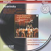 Stravinsky: Petrushka; The Firebird; The Rite of Spring; Orpheus by Royal Concertgebouw Orchestra