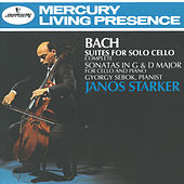 Bach, J.S.: Suites for Solo Cello/2 Cello Sonatas by Janos Starker