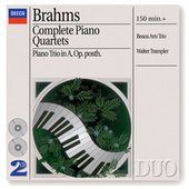 Brahms: Complete Piano Quartets by Various Artists