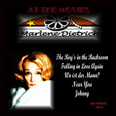 At the Movies by Marlene Dietrich