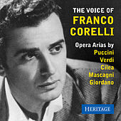 The Voice of Franco Corelli de Franco Corelli