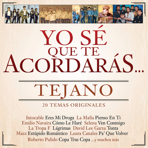 Yo Sé Que Te Acordarás Tejano by Various Artists