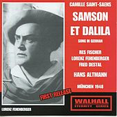 Saint-Saëns: Samson et Dalila, Op. 47 (Sung in German) by Various Artists