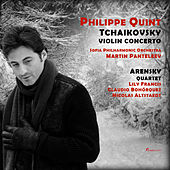 Philippe Quint plays Tchaikovsky & Arensky by Philippe Quint