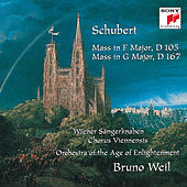 Schubert: Mass in F Major, D 105; Mass in G Major, D 167 by Bruno Weil