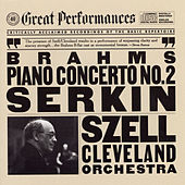 Brahms:  Concerto No. 2 in B-flat Major for Piano and Orchestra, Op. 83 by George Szell